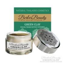 GREEN CLAY Zöld Szépítő Agyagpakolás E vitaminnal (közeli lejáratú)